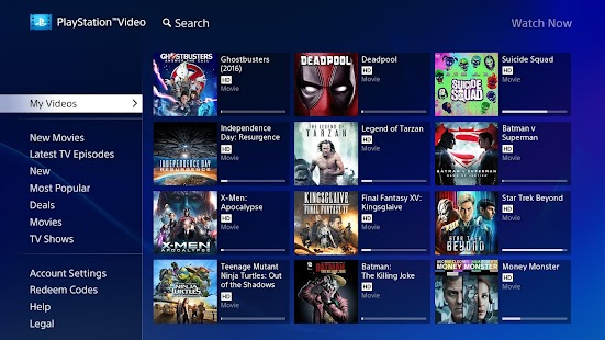 Download PlayStation™Video Android TV Apk 2 3 0,com