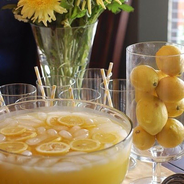 Pineapple-lemonade Punch Recipe