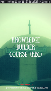 KBC Knowledge Builder Course - náhled