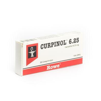 Carvedilol Curpinol 6,25 mg x 30 Comprimidos