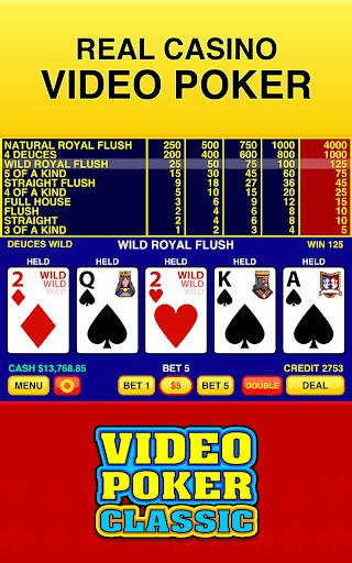 Video Poker Classic Free  screenshots 1