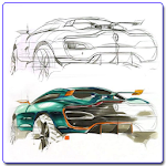 Drawing a Car Icon