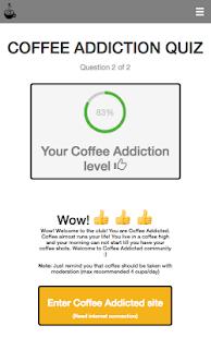 Coffee Addictor - náhled