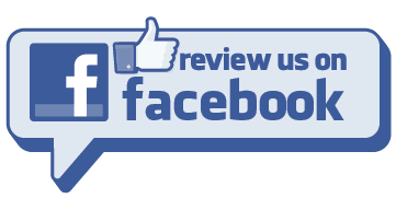 Facebook link to reviews (showing thumbs up).