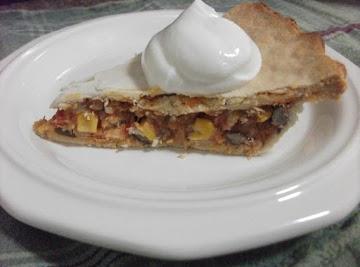 Leftover Turkey Enchilada Pot Pie Recipe