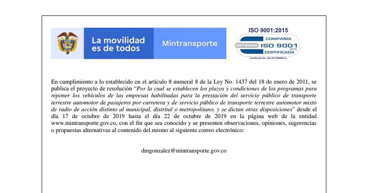 EMPRESAS HABILITADAS PARA LA PRESTACIÓN DEL SERVICIO PÚBLICO DE TRANSPORTE.pdf