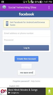 Social Media Apps na jednom - náhled