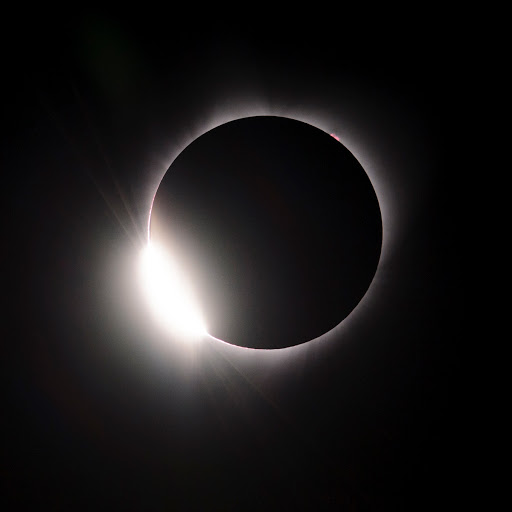 2017 Solar Eclipse first images from Oregon State Fair Grounds Salem Oregon.