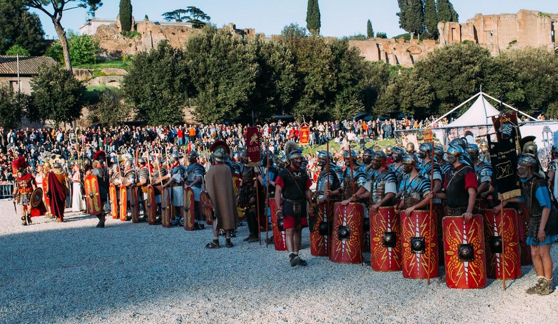 Военно-историческая реконструкция, Рим