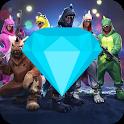 Diamantes Gratis Para FREE FIRE Haciendo Clics icon