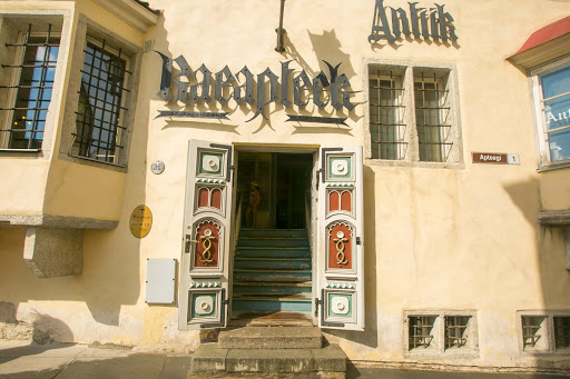 tallinn-pharmacy.jpg - The Raeapteek, in the center of Old Tallinn city, is one of the oldest continuously running pharmacies in Europe. It has operated out of the same building since 1415.