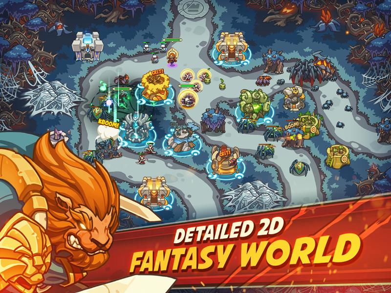Empire Warriors Premium: Tactical TD Game Screenshot 16