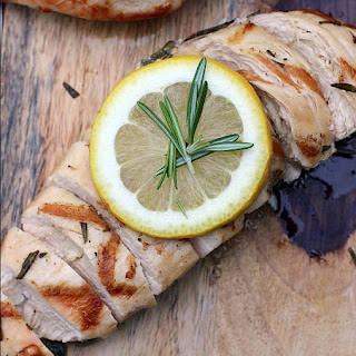 Rosemary and Sage Grilled Chicken Breasts.