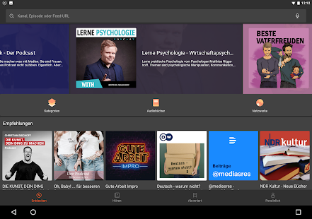 Castbox - Podcasts & Audio Screenshot
