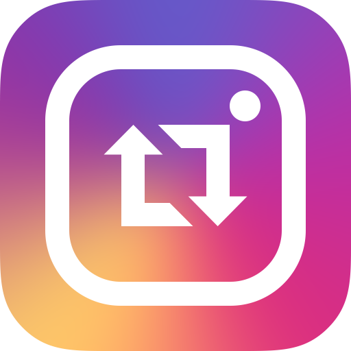 Repost for Instagram 攝影 LOGO-玩APPs