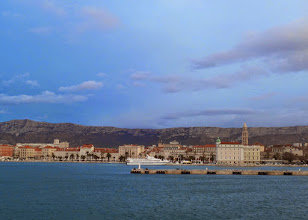 Photo: With 250,000 people, Split is the second largest city in Croatia and the third largest port in the Mediterranean.
