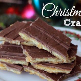 CHRISTMAS CRACK COOKIE BITES – BEST COOKIES EVER!