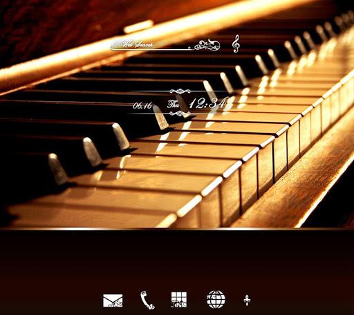 クラシック・ピアノ 壁紙きせかえ