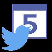 TwitCal 自分のツイートをカレンダーでふりかえろう