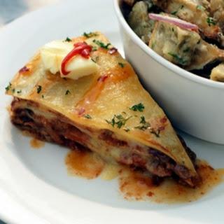Vegetarian Burrito Casserole.