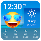 Tải Personal Weather App with Emoji Face APK