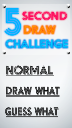 5 Second Draw Challenge