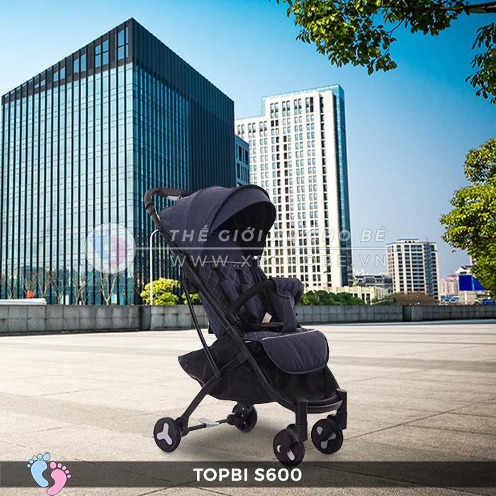 Xe đẩy có tay cầm vali kéo Topbi S600 3
