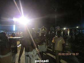 Photo: emperumAnAr, kUrathAzhwAn, piLLai lOkAchAryar, vEdhAnthAchAryar - following nammAzhwAr to the pushkariNi