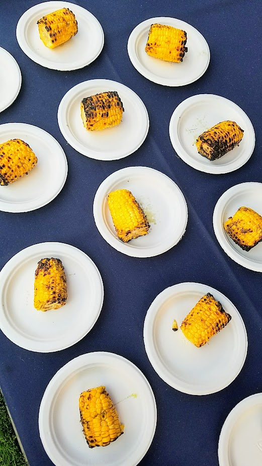 Gabe Rosen of Biwa gave a meat break with Shazi's Persian Corn