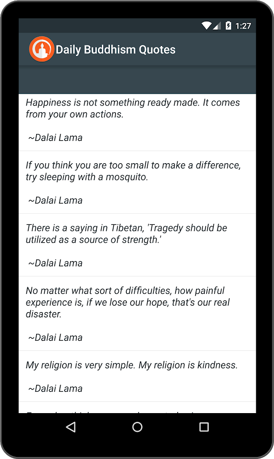 Buddha quotes & Buddhism Daily- screenshot