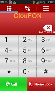 ClouFON - Smart Phone Calls- screenshot thumbnail