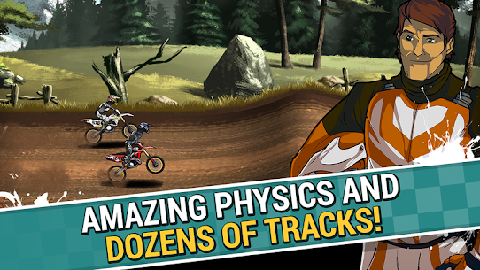 Mad Skills Motocross 2 Mod  APK (Rockets/Unlocked) for Android 1