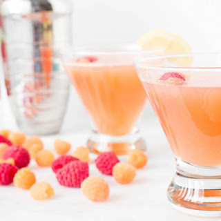 Pink Lemonade Raspberry Cocktail