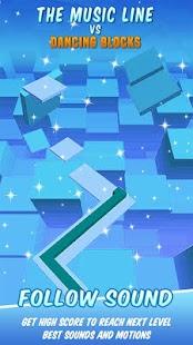 Music Line vs Dancing Blocks - náhled