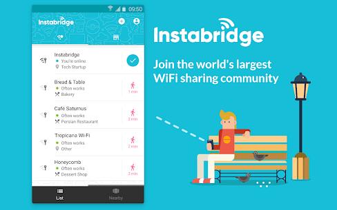 Instabridge – واي فاي مجاني 1