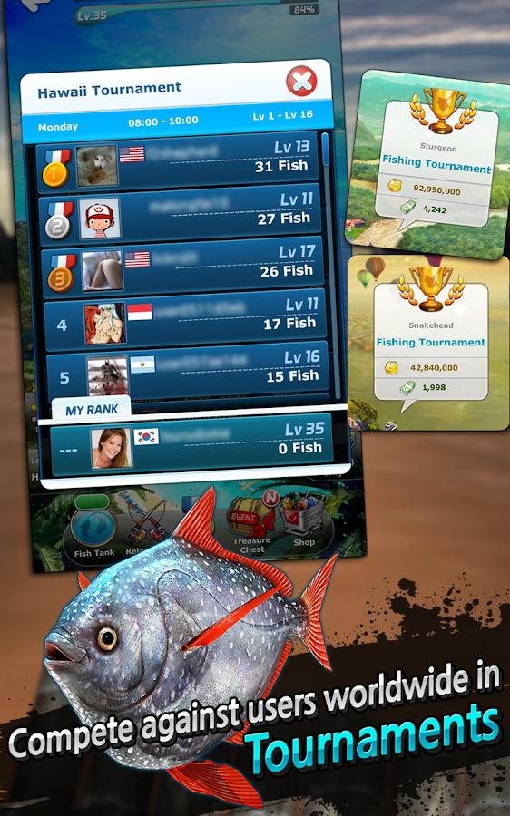 how to go fishin in survive app