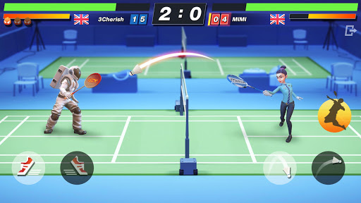 Badminton Blitz - Free PVP Online Sports Game 1.0.9.12 screenshots 2