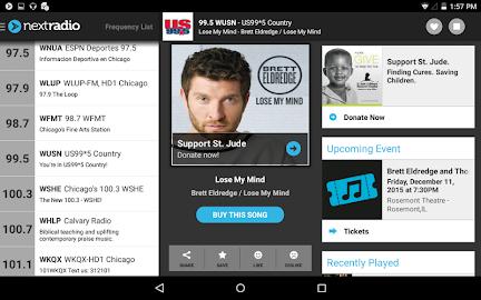 NextRadio - Free Live FM Radio Screenshot 11