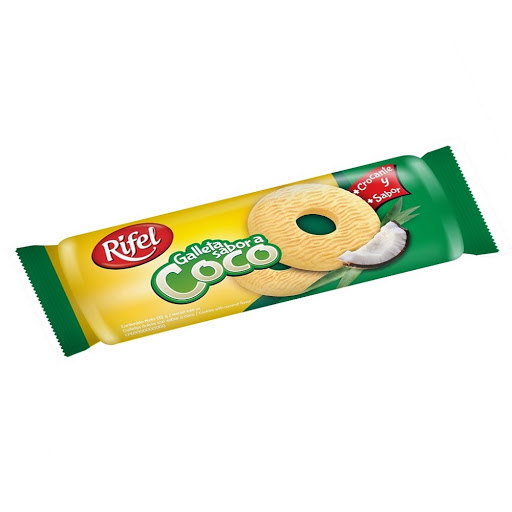 galleta rifel coco 132gr