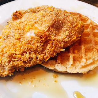"""Fried"" Chicken and Waffles."