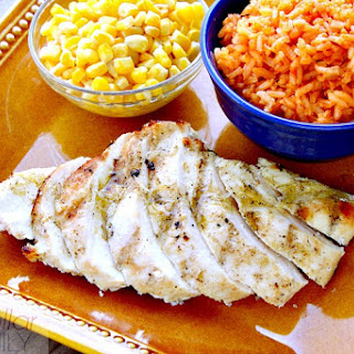 Tequila Recipes - Grilled Tequila Lime Chicken