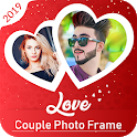 Love Couple Photo Frame Editor - Couple Photo Suit icon