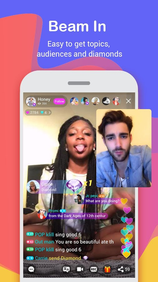 Live.me - live stream video chat- screenshot