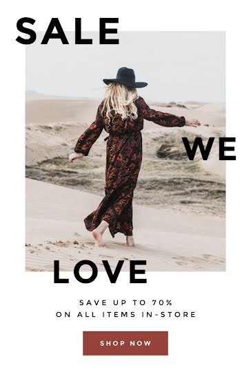 Sale We Love - Pinterest Pin Template