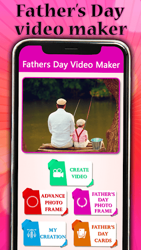 Father's day Video Maker with Song 2020 screenshot 1