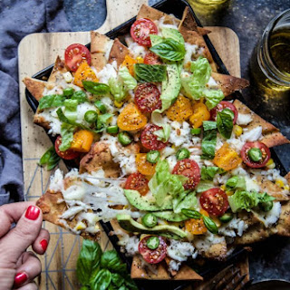 Crab Melt Pita Nachos Recipe