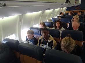 Photo: kids on plane