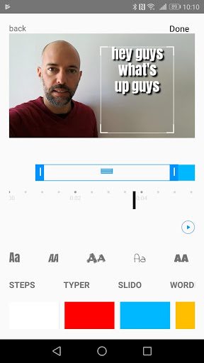 AutoCap - automatic video captions and subtitles 0.9.33 screenshots 3