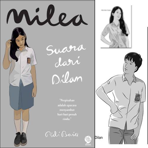 NOVEL Milea Suara dari Dilan for PC
