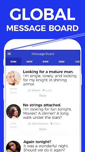 Singles message board